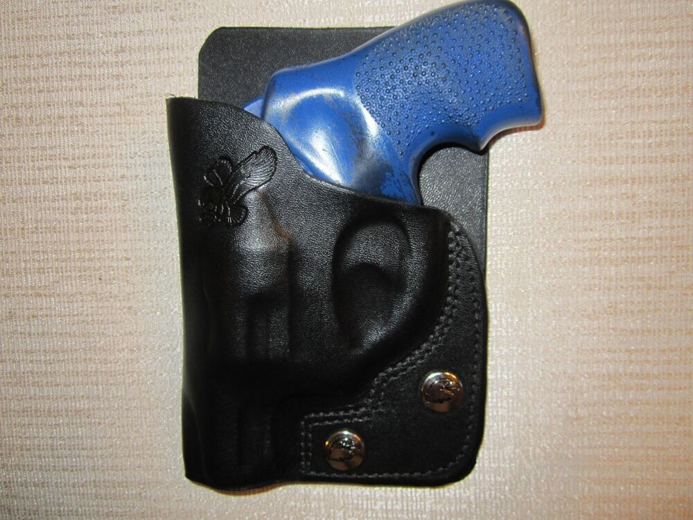 Lcr In Hand : Ruger lcr leather right hand wallet and pocket holster ebay