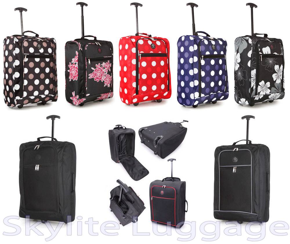 Airline Cabin Size Hand Luggage Carry On Cabin Bag Holdall Trolley ...
