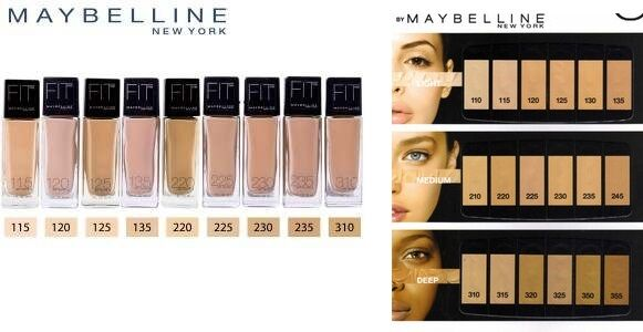 Maybelline fit me foundation you choose color shade ebay