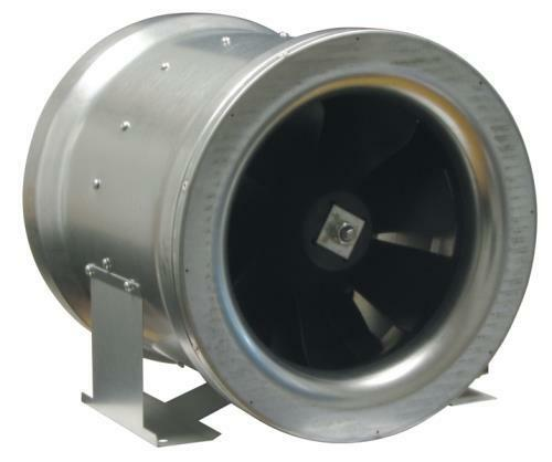 Inline Exhaust Blowers : Can fan max quot cfm inline exhaust blower