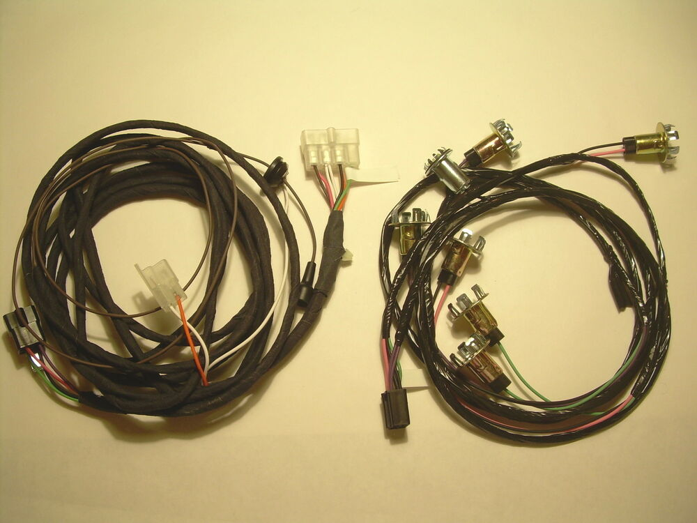 1960 impala rear light wiring harness front and rear section 2 and 4 door ebay