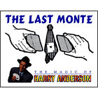 The Last Monte by Harry Anderson deck playing cards magic trick gaff