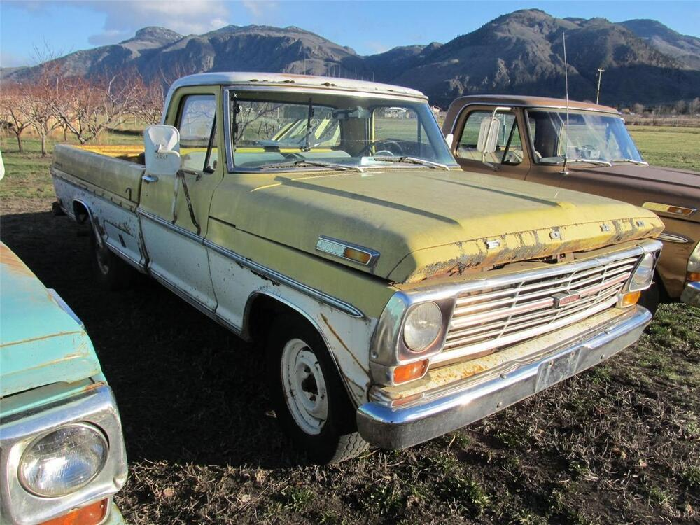 parting out this truck lug nut 1969 ford f 100 2wd 67. Black Bedroom Furniture Sets. Home Design Ideas