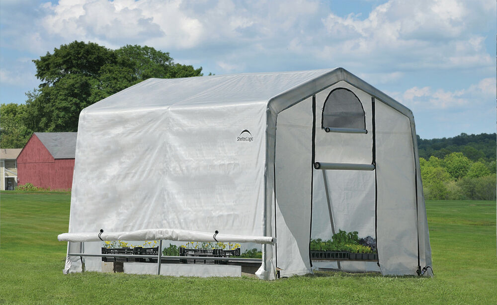 Portable Greenhouse Replacement Cover : Shelterlogic organic greenhouse outdoor grow