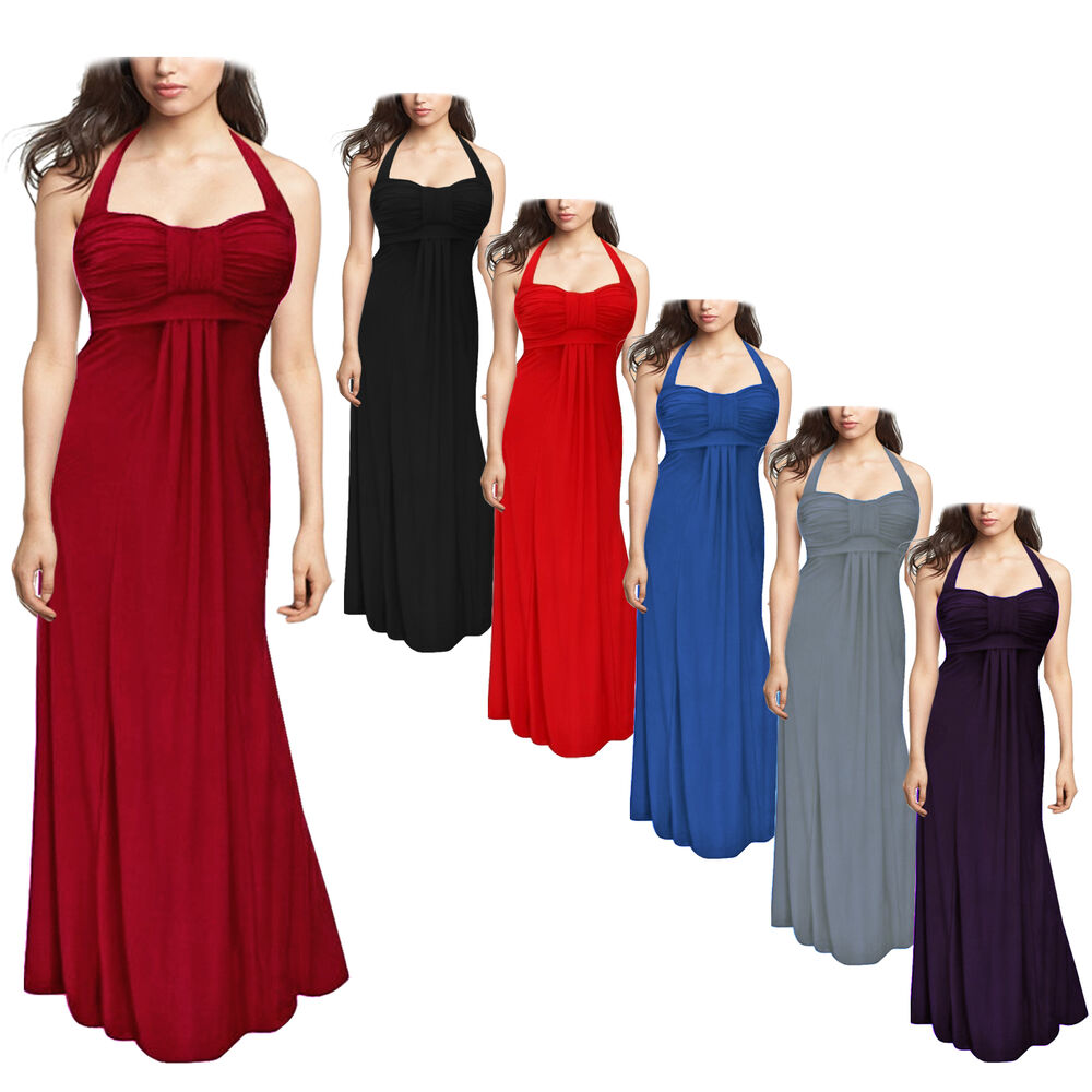 elegant maxi dresses for weddings wedding evening prom maxi dress size 12 24 3853
