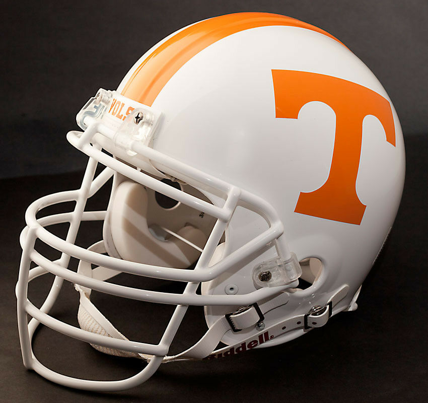 Peyton manning edition tennessee volunteers riddell replica football