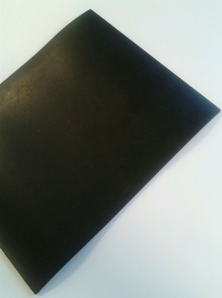 Nitrile 0 5mm Thick Sheet Great Oil Resistant Thin Black