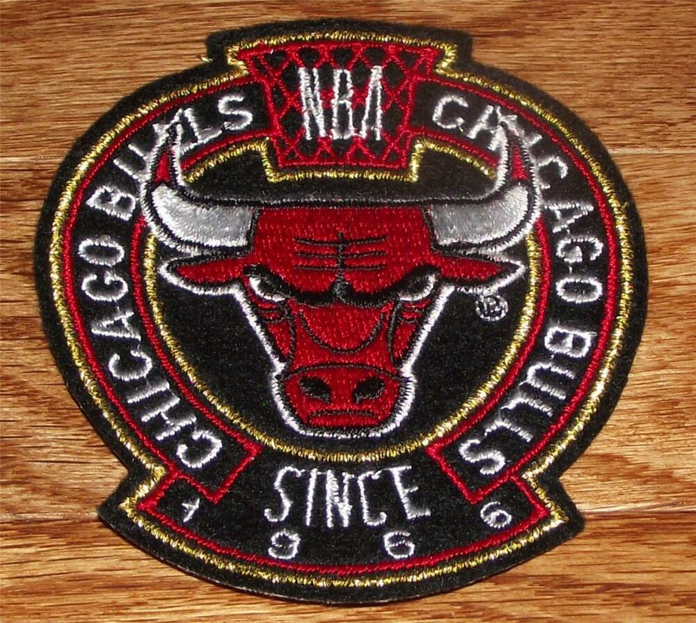 High quality chicago bulls crest sleeve or polo sized
