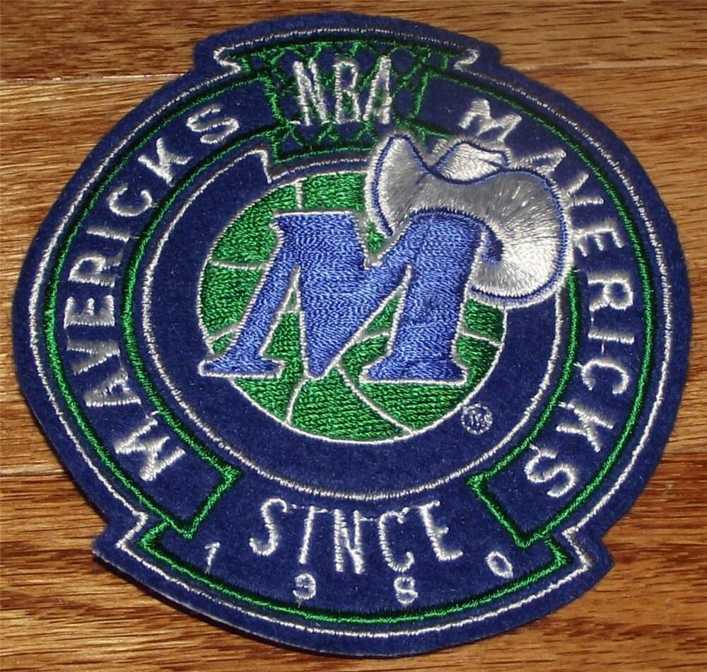 High quality dallas mavericks crest sleeve or polo sized