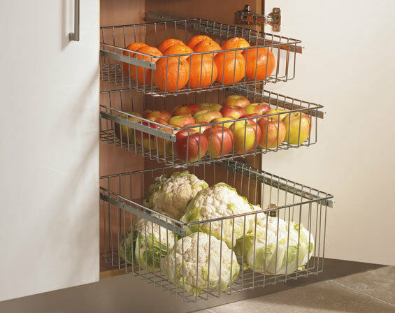 Ikea Kitchen Pull Out Baskets