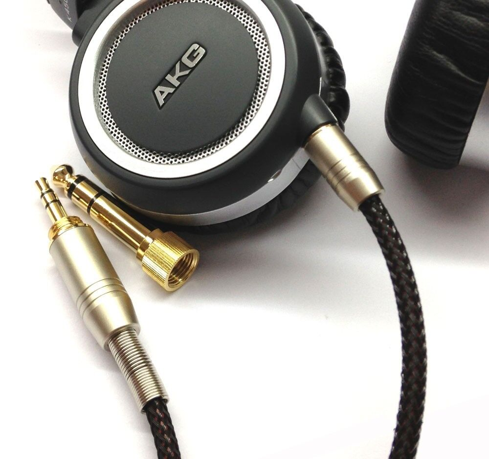 New Replacement Audio upgrade Cable For AKG K450 K451 K452