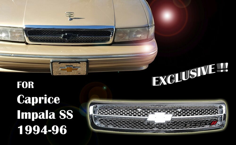 Chevy Impala Ss Caprice Grille Fully Chrome Gm1200450