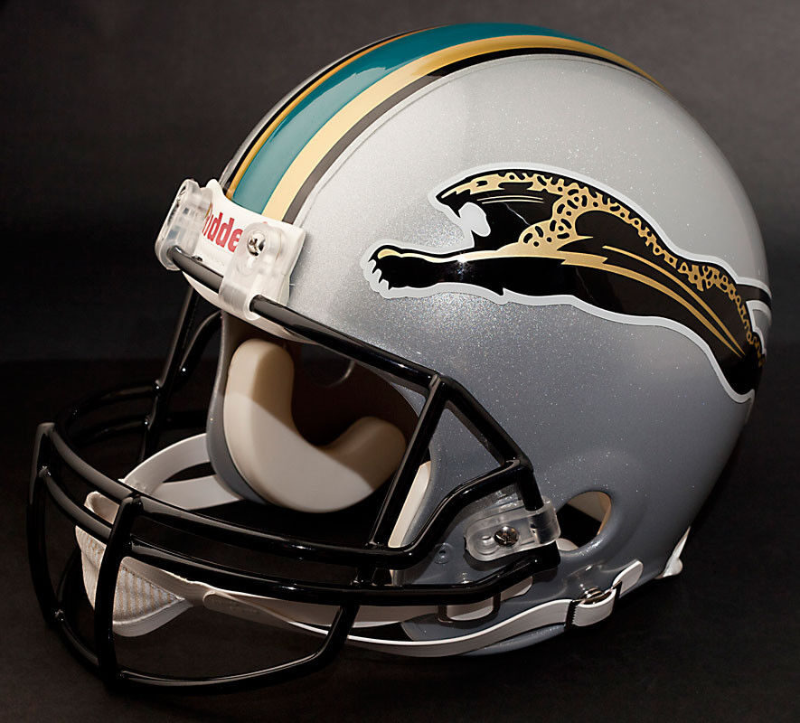 jacksonville jaguars 1995 riddell full size replica football helmet. Cars Review. Best American Auto & Cars Review