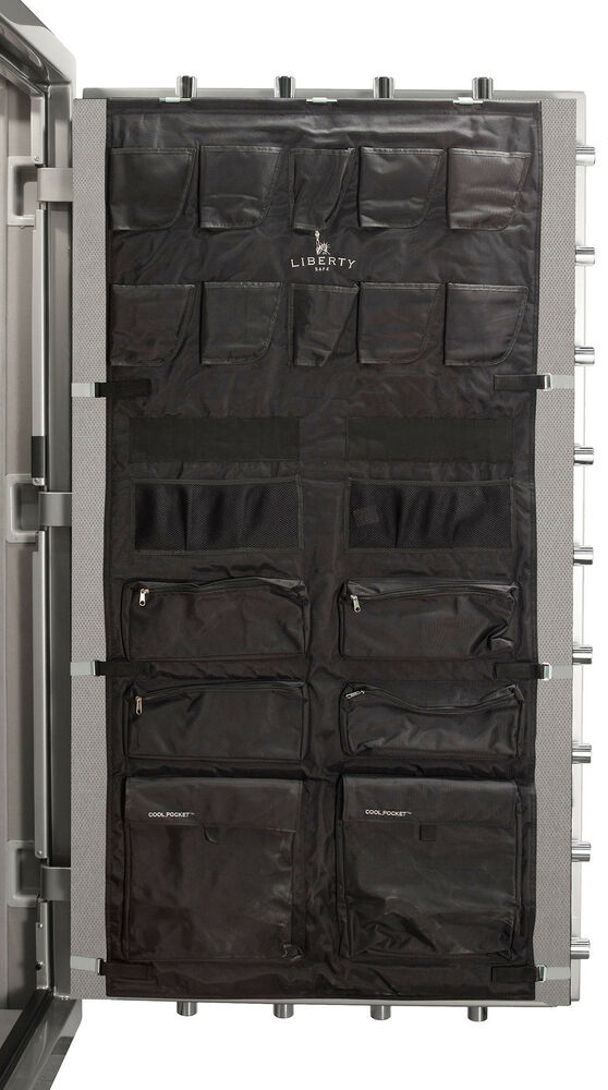 Gun Safe Fireproof Panels : Liberty s door panel organizer pistol kit cu ft gun