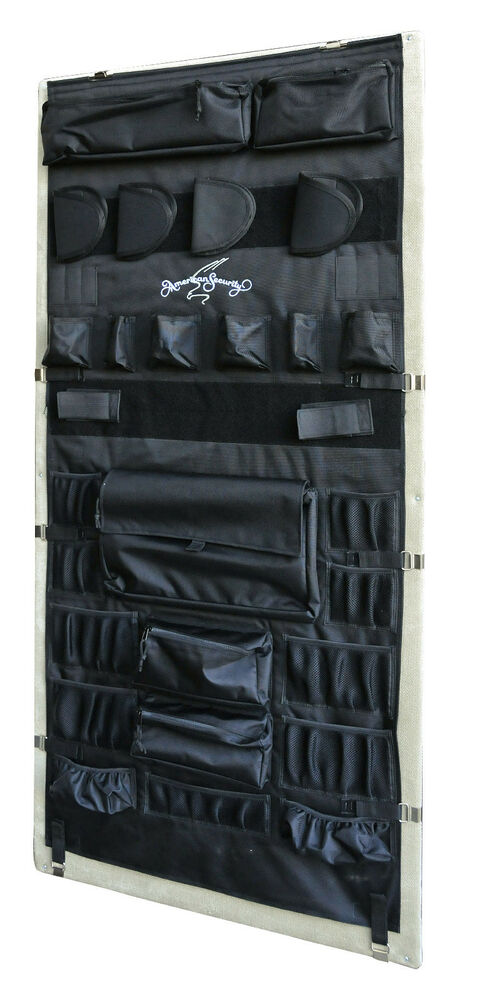 Gun Safe Fireproof Panels : American security door panel organizer pistol kit model