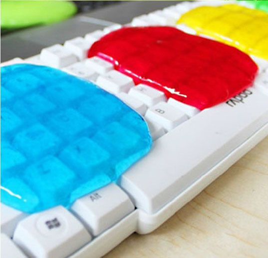 soft sticky clean glue gum silica gel cleaning car pc keyboard dust dirt cleaner ebay. Black Bedroom Furniture Sets. Home Design Ideas