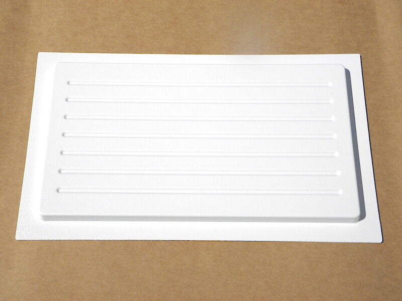 Crawl Space Small Outward Mounted Vent Cover White Foundation Vent Cove