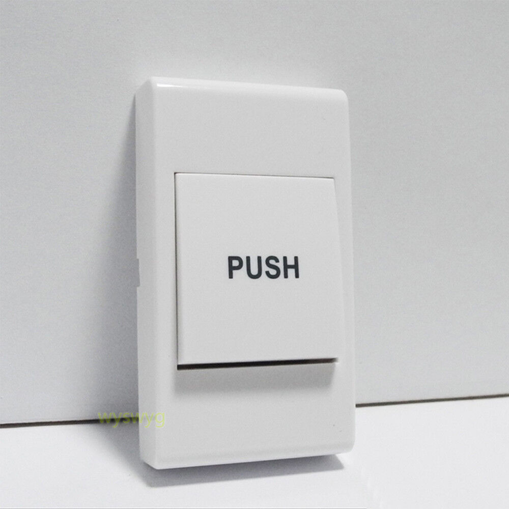 Small Door Exit Button Push Plastic Switch 36v A Part Of