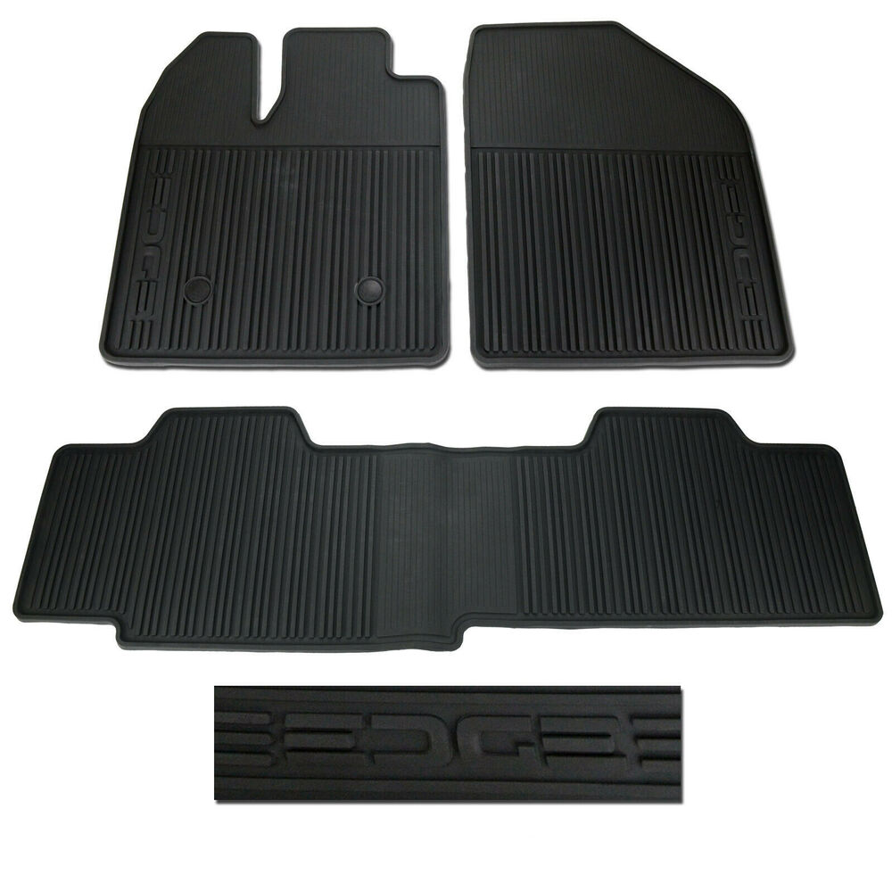 Oem New 2011 2014 Ford Edge All Weather Vinyl Floor Mats