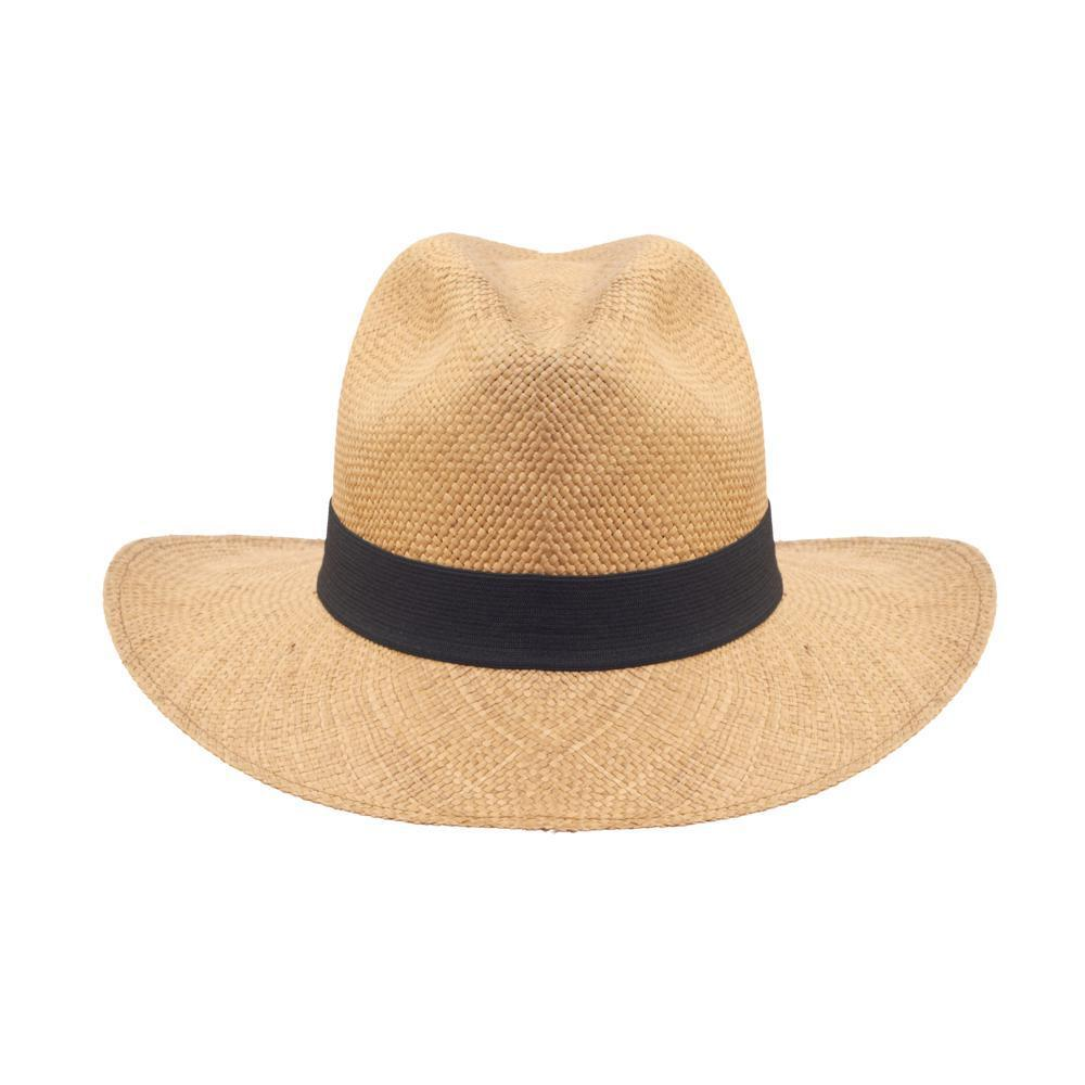New Wide Indiana Jones Style Brimmed Genuine Panama Hat ...