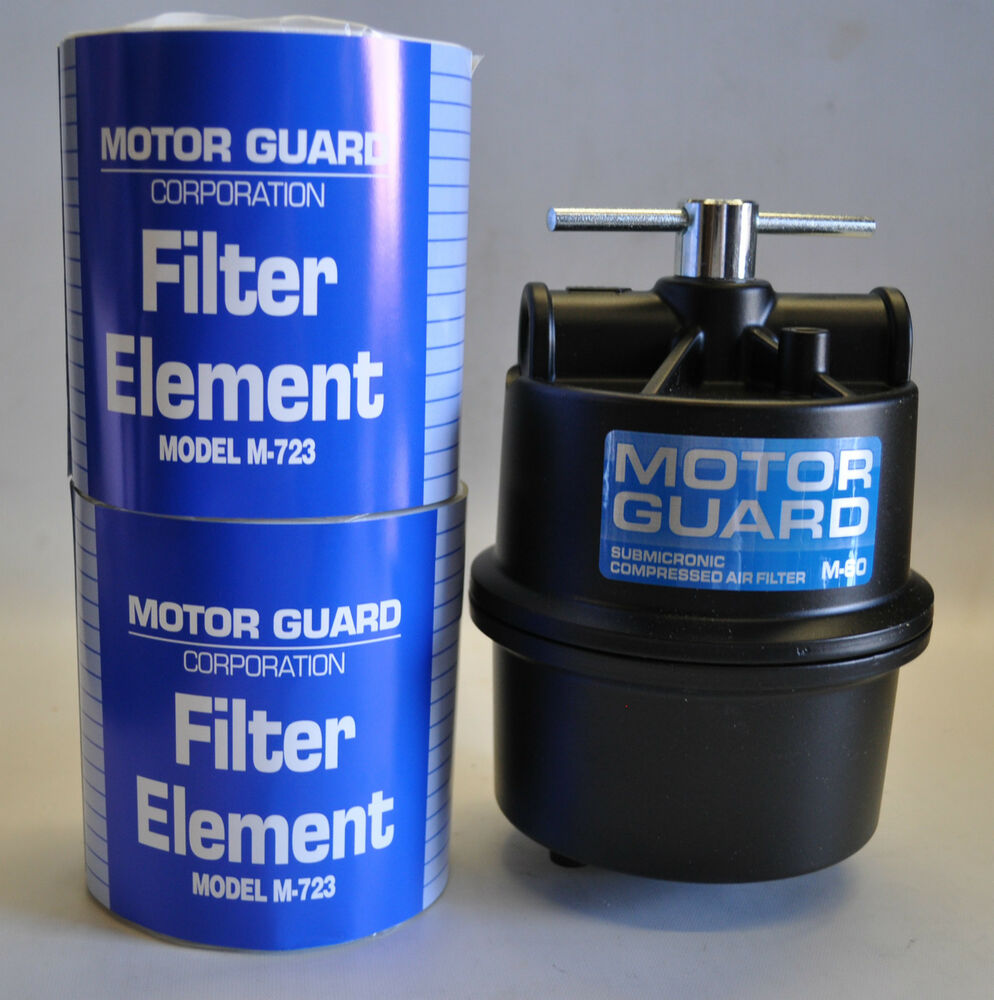 motor guard plasma air filter m 60 1 2 npt for most of brand w 2 m 723 elements ebay. Black Bedroom Furniture Sets. Home Design Ideas