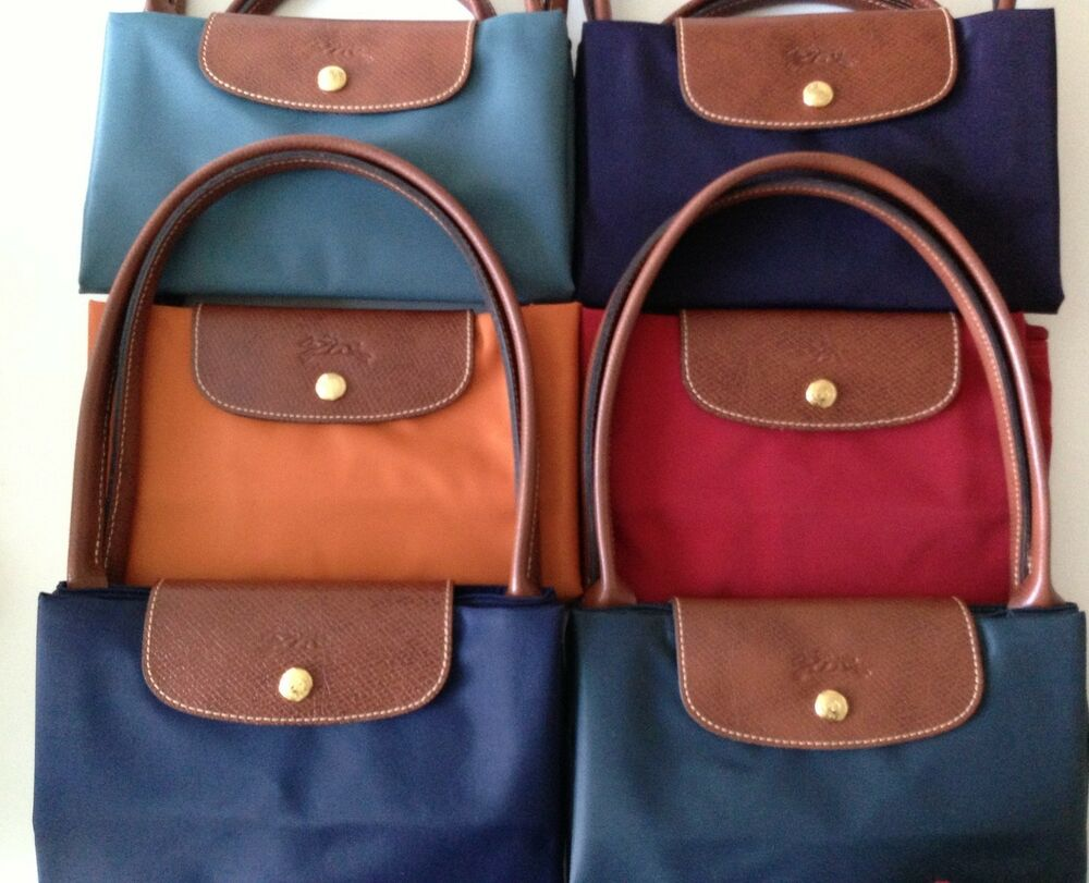 New Longchamp Le Pliage Large Tote Authentic Assorted