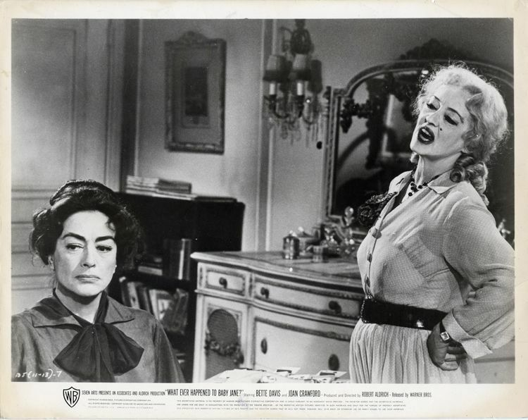 JOAN CRAWFORD & BETTE DAVIS WHATEVER HAPPENED TO BABY JANE ...