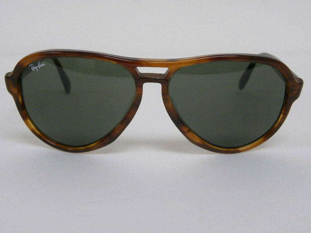 76515f121b Details about Vintage B L Ray Ban Vagabond Tortoise Brown G-15 Aviator  Sunglasses USA
