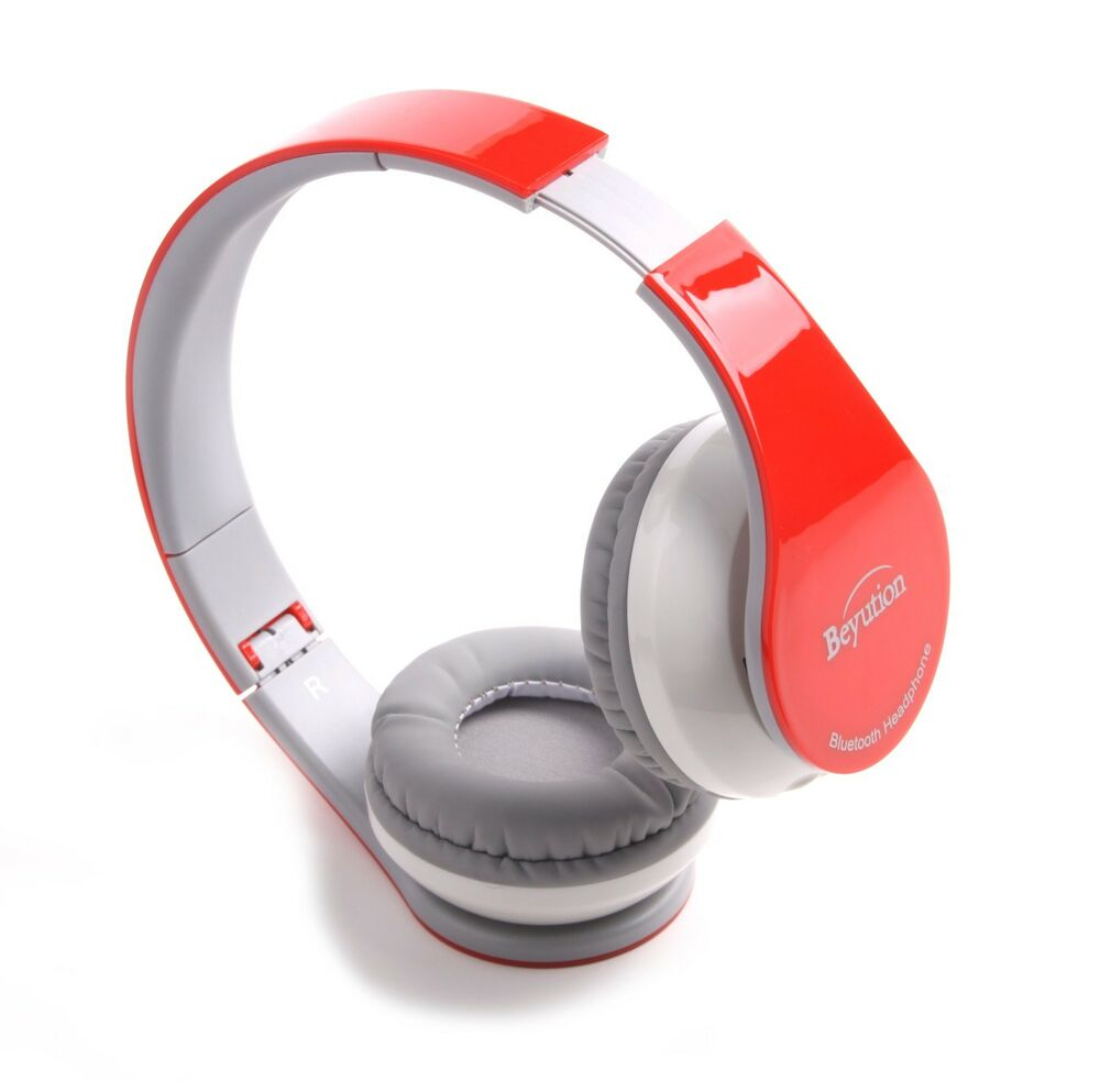 wireless stereo headset bluetooth v4 1 headphones f cell phone laptop pc tablet ebay. Black Bedroom Furniture Sets. Home Design Ideas