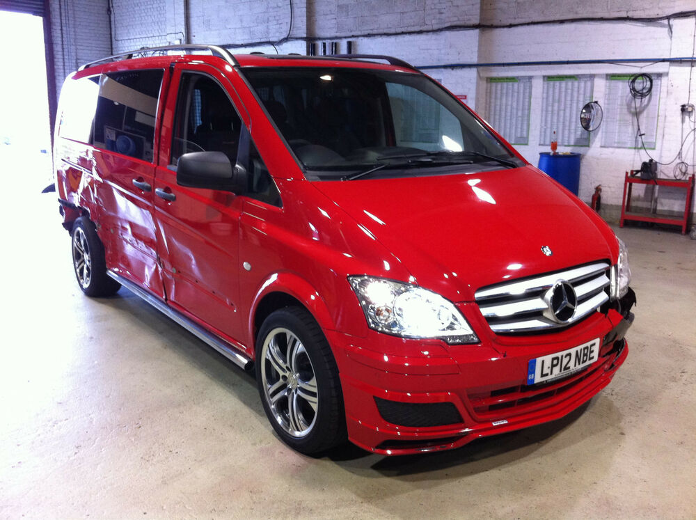 mercedes vito 122 cdi sport x brabus 2012 ebay. Black Bedroom Furniture Sets. Home Design Ideas