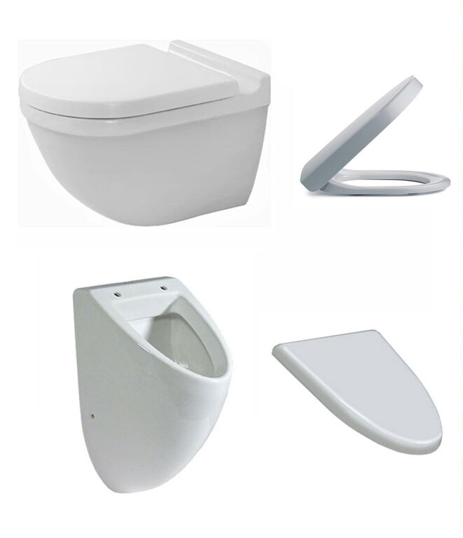 duravit starck 3 wand wc inkl wc sitz tiefsp ler 22250900001 urinal o bidet ebay. Black Bedroom Furniture Sets. Home Design Ideas