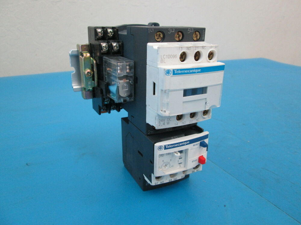 Telemecanique Lc1d096bl Schneider Electric Contactor With Lrd 146