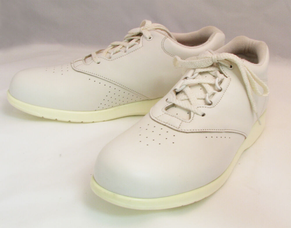 s walkers white lace up leather comfort