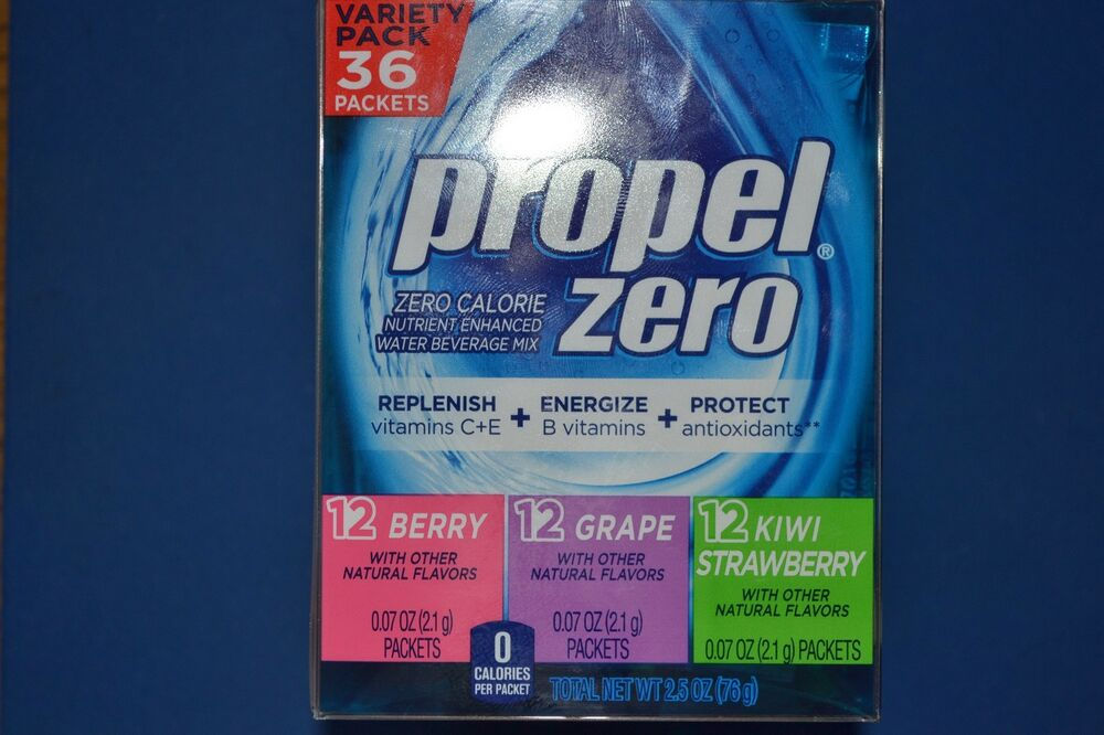 Propel Zero Quot On The Go Quot Drink Mix Packets Water