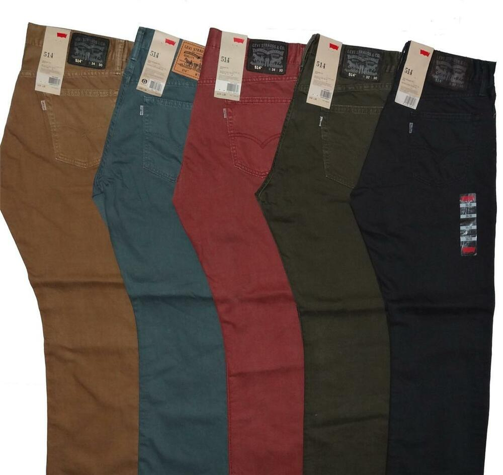Levi's Men's 514 Slim Straight Fit Jeans 5 Colors Many ...