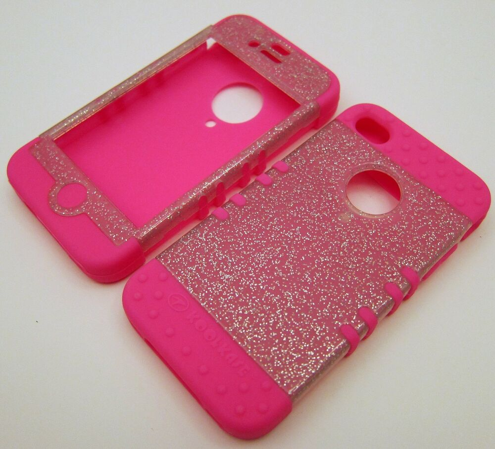 pink iphone 4 case silicone for iphone 4 4s glitter pink skin ebay 6665
