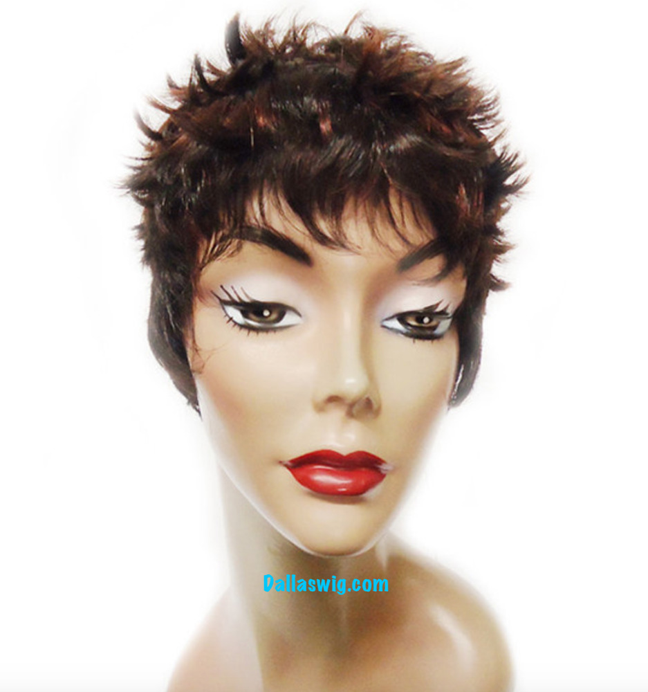 pixie haircut wigs synthetic pixie boy cut halle berry style sassy wig 5341 | s l1000