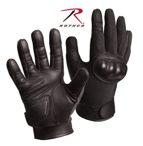 Rothco 3463 Black Military Cut Resistant Hard Knuckle