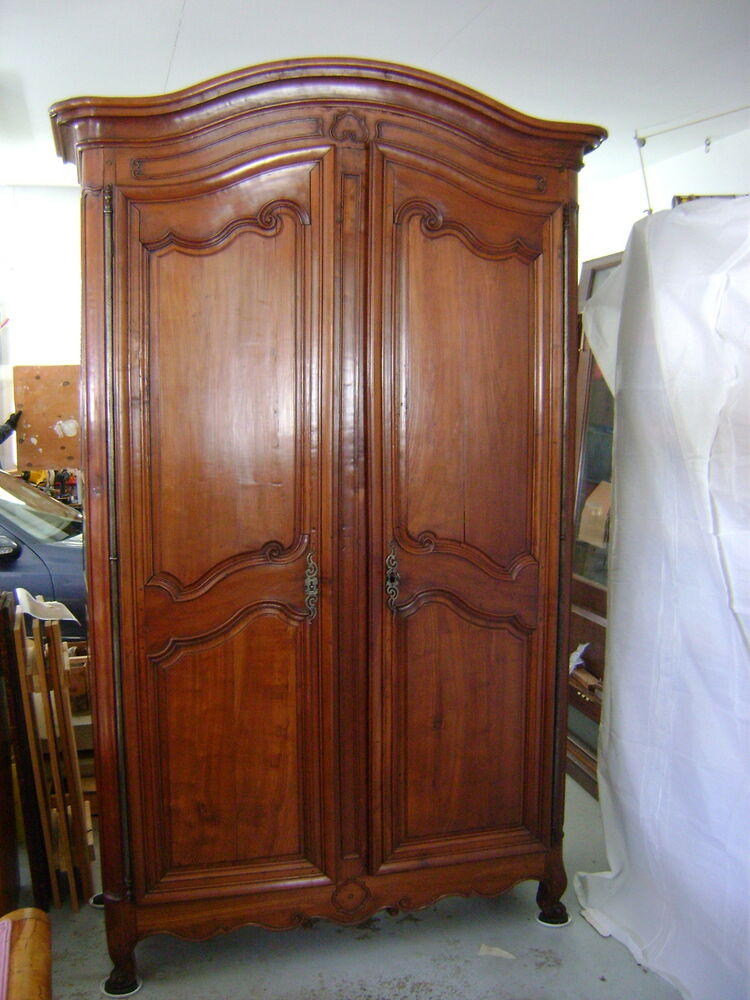 louis xv armoire 18th century ebay. Black Bedroom Furniture Sets. Home Design Ideas