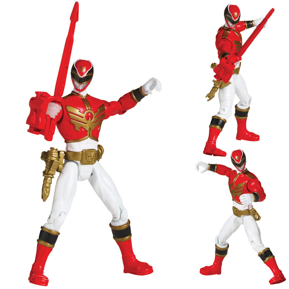 Best Power Ranger Toys And Action Figures : Power rangers megaforce cm action figure red