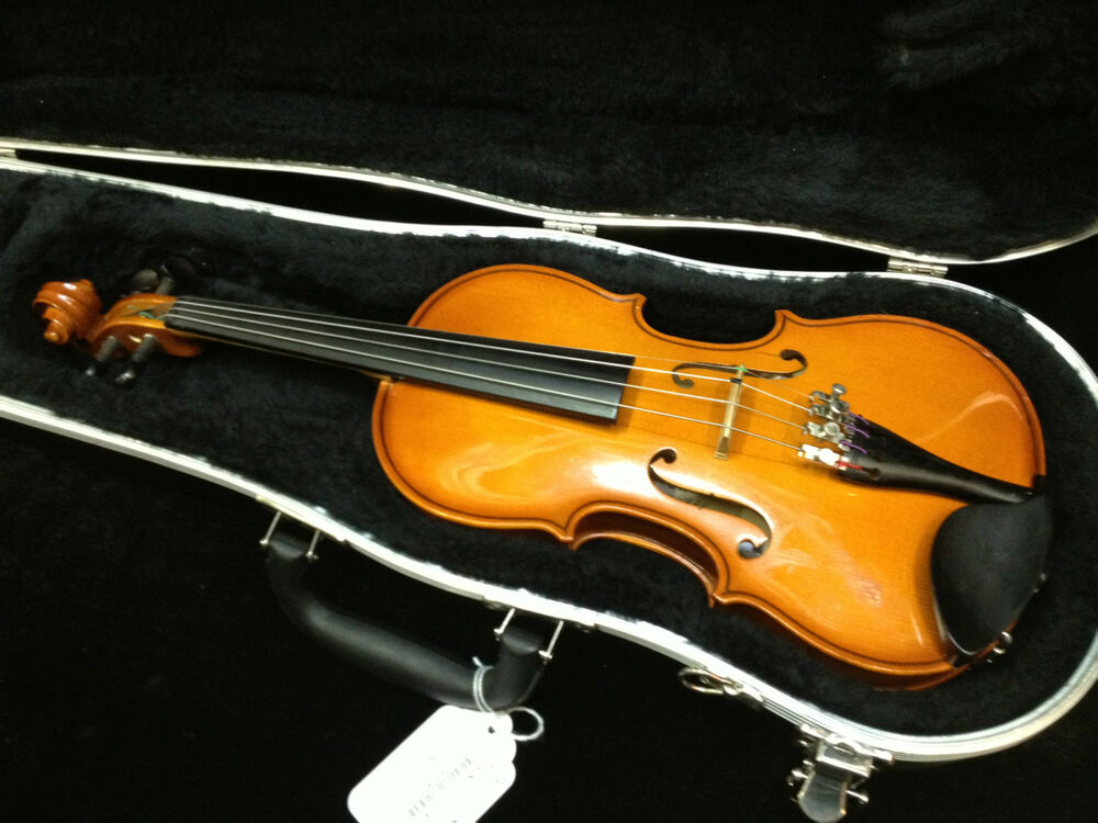 strunal 1 4 violin w case made in romania ready to. Black Bedroom Furniture Sets. Home Design Ideas