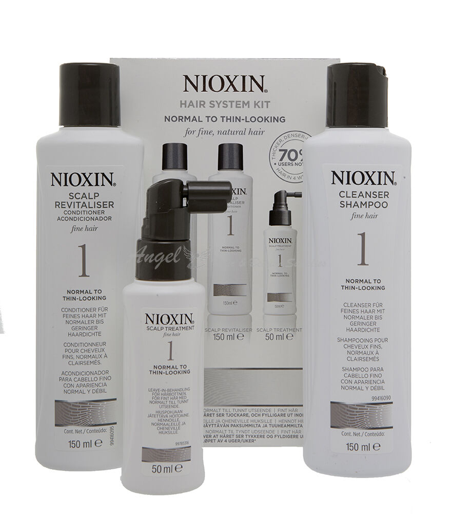 Nioxin System 1 To 6 Shampoo Conditioner Treatment Hair