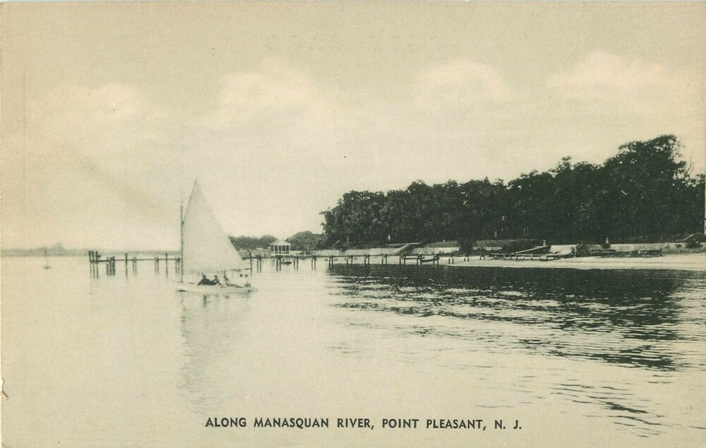 Along the manasquan river point pleasant nj ebay for Riverpointe