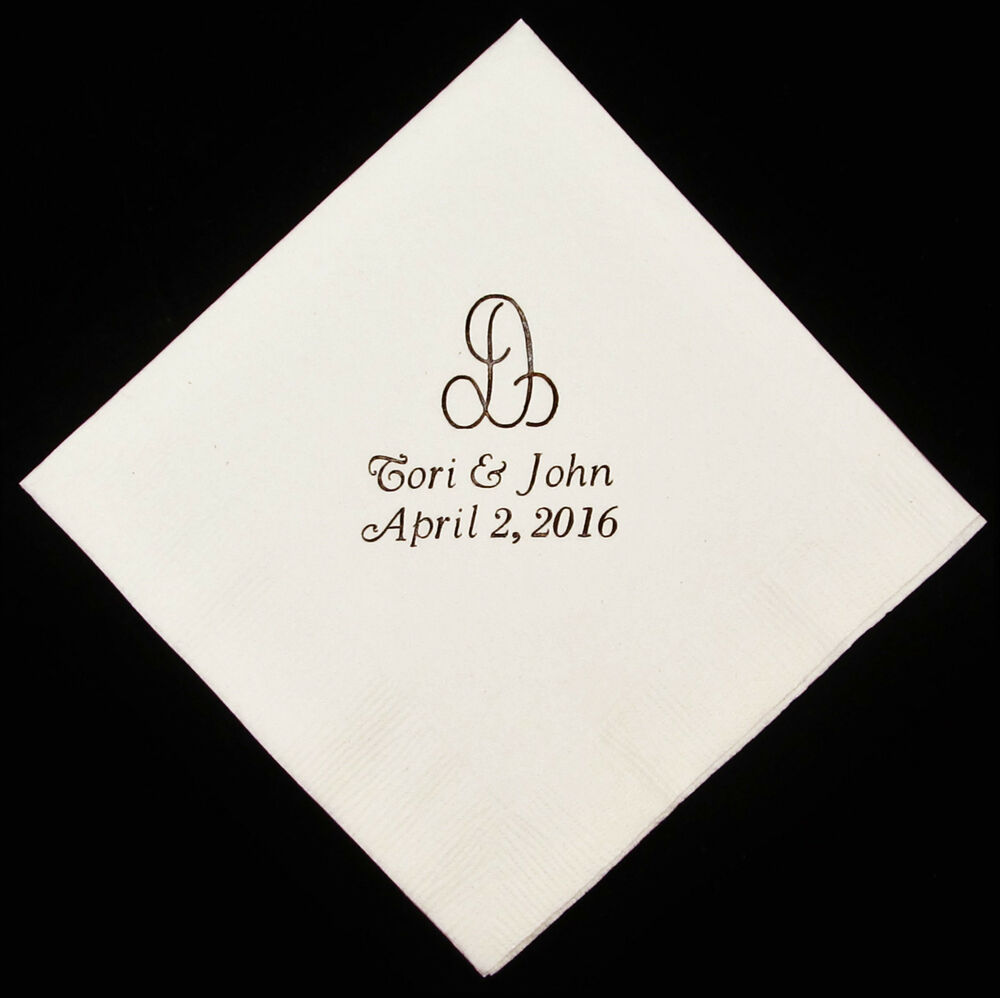 luncheon napkins wedding napkins party custom printed napkins ebay