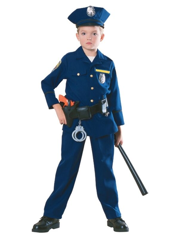 Police officer child boys costume ebay - Police officer child costume ...