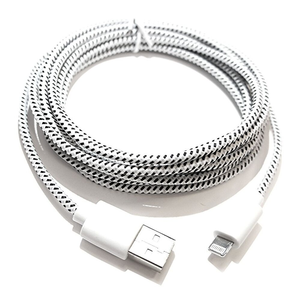 10ft iphone 5 charger 10ft braided sync data charger usb cable for iphone 5 5s 6 13341
