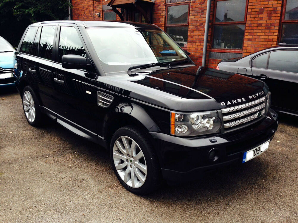 2009 09 land rover range rover sport 3 6td v8 hse 5dr auto. Black Bedroom Furniture Sets. Home Design Ideas