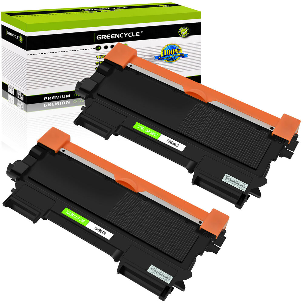 2pk tn450 toner cartridge for brother hl 2130 hl2240d hl2270dw hl2280dw ebay. Black Bedroom Furniture Sets. Home Design Ideas
