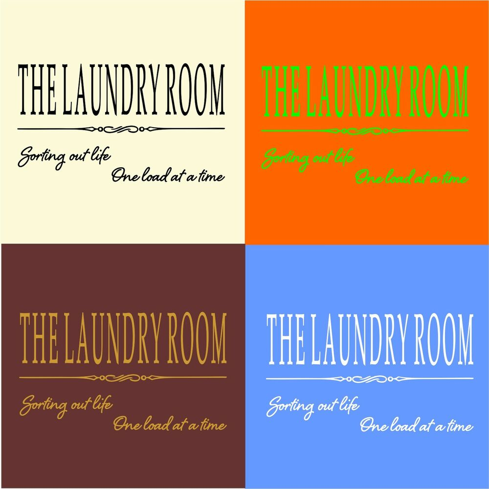 the laundry room fun funny wall art decal vinyl