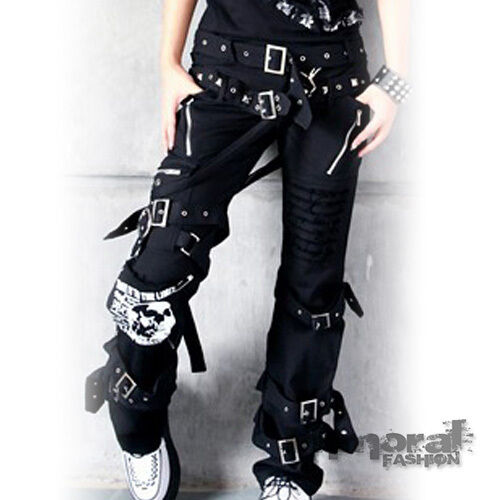 discount bondage punk goth pants
